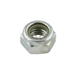 High Self-Locking Nut M10 Zinc-Plated