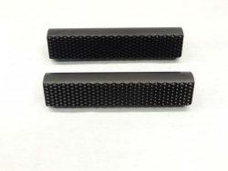 "1/2 or 3/8"" Aluminum Pedal Grips pair with Logos"