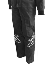 SFI 3.2A/1 Single Layer Race Pant Black