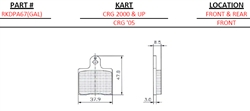 CRG Front/Rear 2000 & Up (Hard)