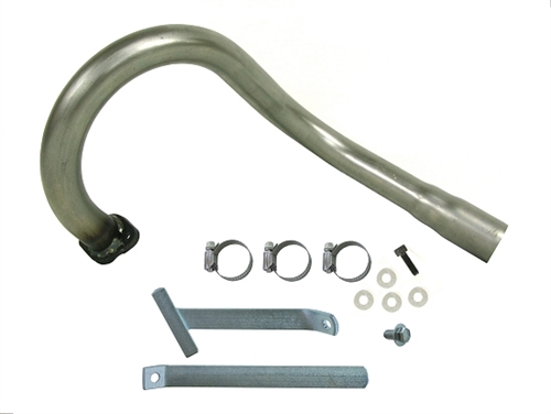 GO KART RACING BRIGGS ANIMAL RLV LO206 HEADER SILENCER OHV PIPE EXHAUST NEW