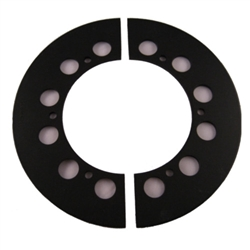 Steel Sprocket Guard - Medium (65 - 72 tooth) order 2 sets if using as sprocket guide