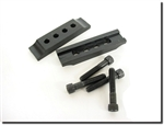 Black Rhino Mount Clamps (Pair Plus Bolts) , International