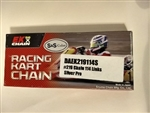 #219 EK Spaced Silver Pro Chain - 114 Links