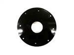 Plastic Flywheel Screen, Animal (Black - No Cooling Holes)
