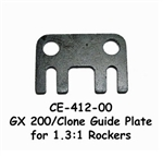 Clone Honda GX200 Guide Plate (for 1.3:1 Rockers)