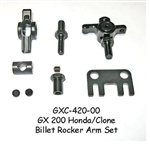 Clone / Honda GX200 Billet Steel Rocker Arm Set. 1.3:1 ratio