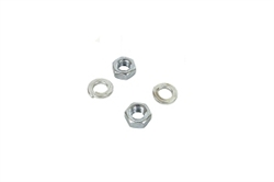 JF168-1510 Clone Exhaust Nuts w/ Washers (set of 2)