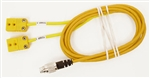 Patch Y Cable TC/TR for Mychron T2