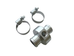 Water Temp Hose Coupler 3/4 inch