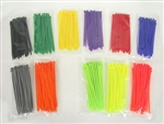 Fluorescent Cable Ties (Pack of 100)