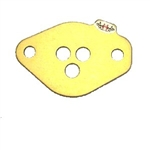 Gold Animal Restrictor Plate (Three Hole) Part# 'WB5660'