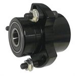 "5/8"" Stepped Front Hub Black OR Silver (sold individually)"
