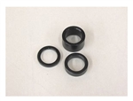 "1/4"" Wheel Spacer, Black (3/4"")"