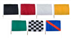 Go Kart Racing Flags With Dowels Complete Set