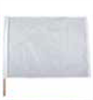 White Racing Flag