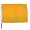 Yellow Racing Flag