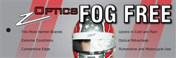 Racing Helmet Fog Free Film Insert Z Optics
