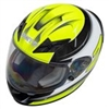 Zamp FS-9 Graphic Green Black Go Kart Helmet