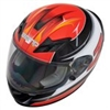 Zamp FS-9 Graphic Red Black Go Kart Helmet
