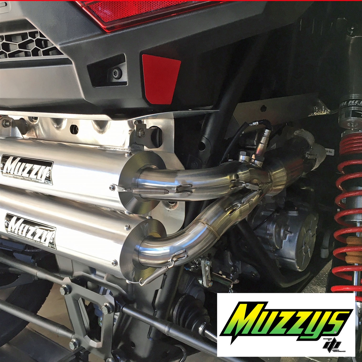 Muzzy's Polaris RZR XP1000 / RS1 Full Exhaust System