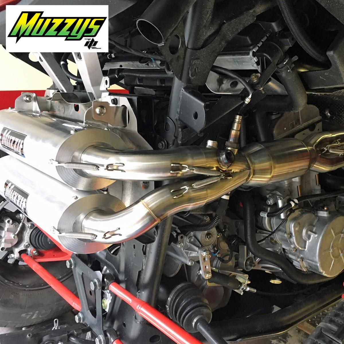 Muzzy's Polaris RZR XP1000 / RS1 Full Exhaust System