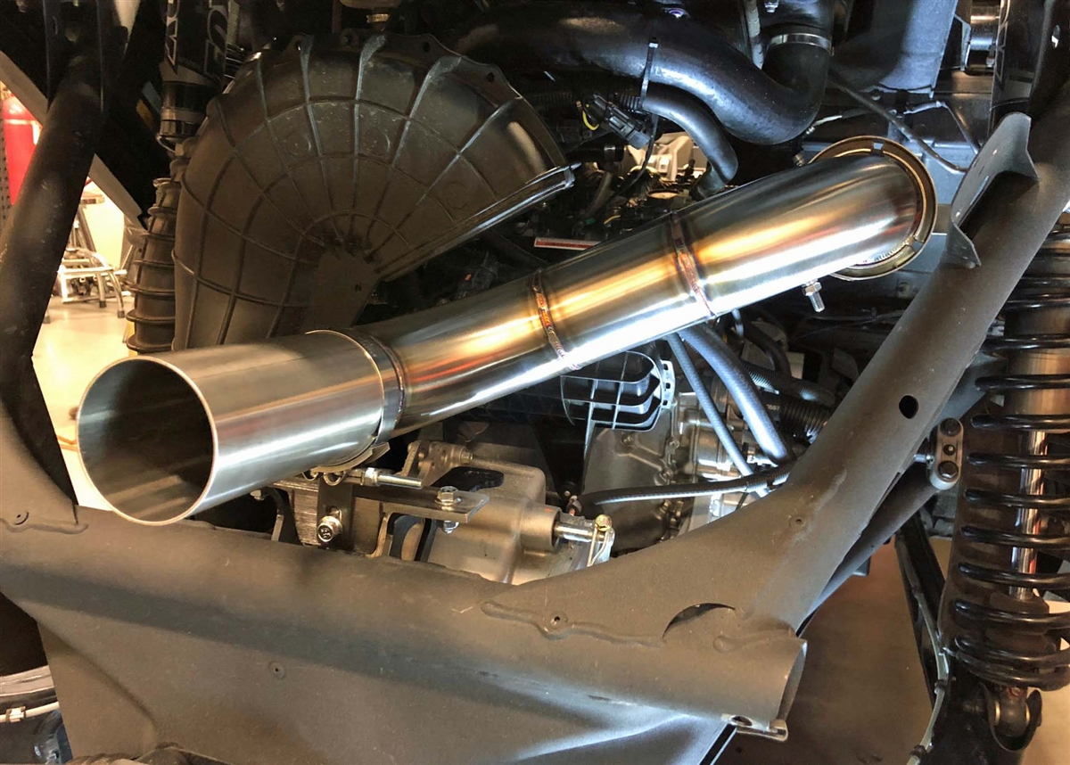 Treal Performance X3 3 0 inch Full Exhaust System: Straight Pipe