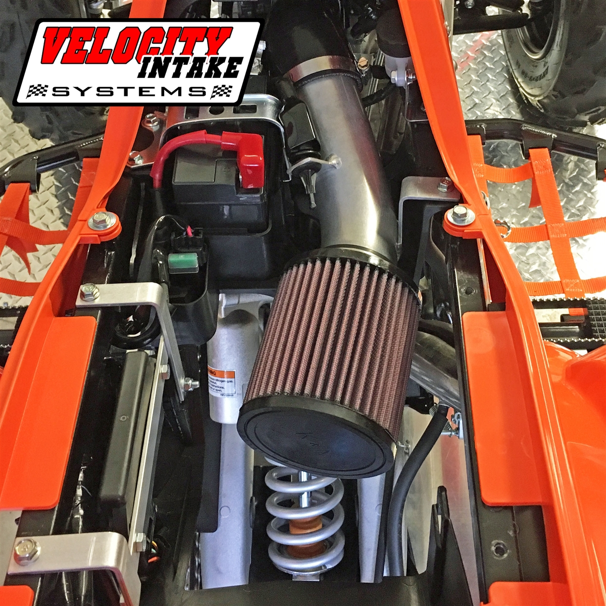 Raptor 700 06-14 Velocity Intake Kit w// K/&N Performance Air Filter /& Outerwears