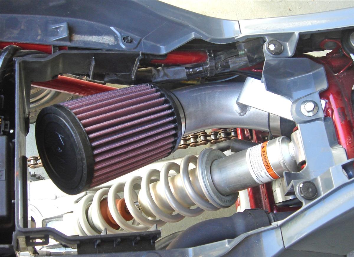 Yamaha Raptor 700 AFTERMARKET AIR FILTER Intake System 06-14 without air box