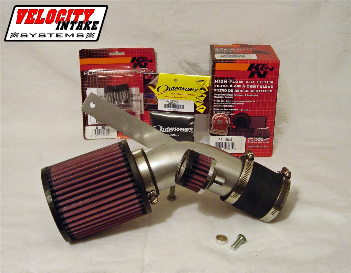 Yamaha Rhino 660 04 07 Velocity Intake System With Kn Air Filter Fuel Location View Larger Photo