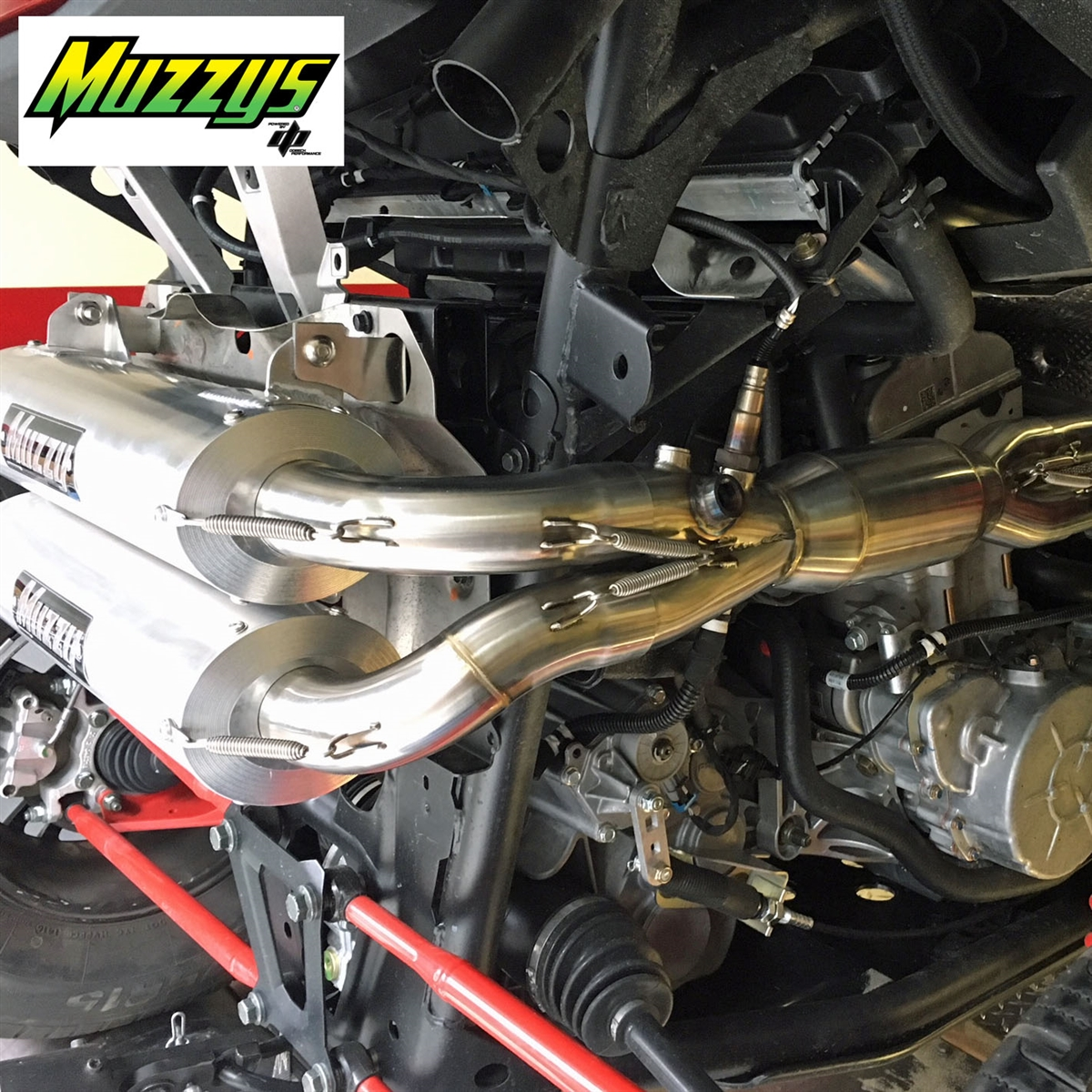 RZR RS1 Muzzy's Full Exhaust and Stage 2 Reflash Package