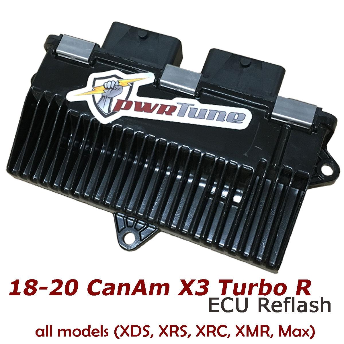 pwrTune ECU Reflash CanAm 2018-2019 X3 Turbo