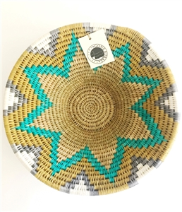 "Sand Dune Lavumisa Basket - Small - 8"" x 3"" OUT OF STOCK"