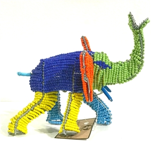 Bead & Wire Elephant