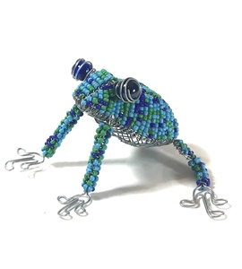 Bead & Wire Animal - Frog