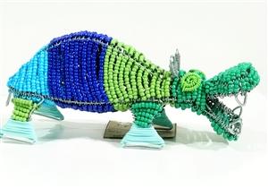 Bead & Wire Animal - Hippo