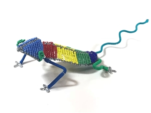 Bead & Wire Animal - Lizard