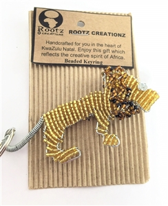 Keychains - Beaded Lion