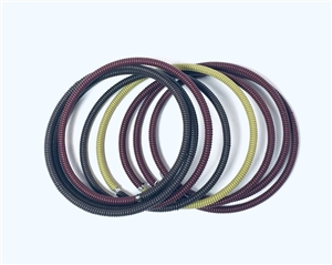 Spiral Color Block Large - Plum