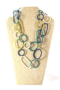 Spiral Ring Necklace Long - Classic Jewel