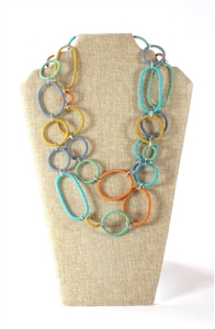 Spiral Ring Necklace Long - Edible
