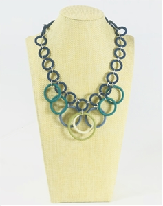 Ring Necklace Short - Classic Jewel