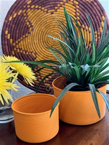 African Hope - Canister Orange/Yellow