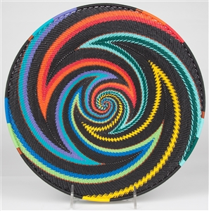 TW African Rainbow Medium Platter  / TW-AR-30P OUT OF STOCK