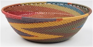 "<!060>Medium Round TW -  Painted Desert ~ Size: 7.0 ""x 2.25"""