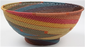 TW Large Round Bowl w/ Base /  TW-PD-20RB OUT OF STOCK