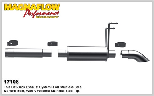 Magnaflow Catback Exhaust 2009 2016 Dodge Ram 1500 Off Road Pro Series System
