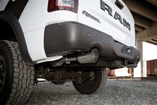 Ram 1500 Exhaust >> Carven Competitor Direct Fit Muffler Kit W 5 Polished Tips 09 Up Ram 1500 5 7l Hemi