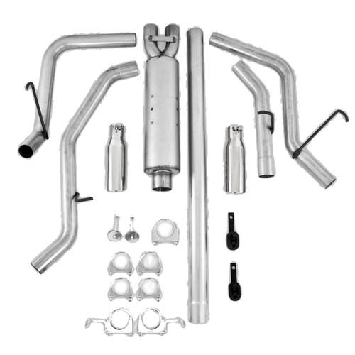 MBRP Dual Split Exit Catback Exhaust 09-16 Ram 1500 5 7L - T409 Stainless