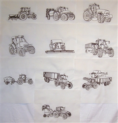 Farm Tractors and Farm Equipment